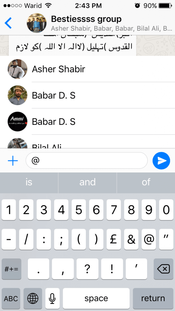 Some of the hidden features of the Whatsapp